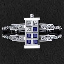 dr who wedding ring doctor who tardis ring