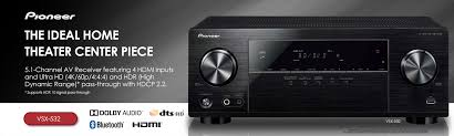 pioneer 5 1 surround sound home theater system amazon com pioneer surround sound a v receiver black vsx 532