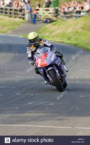 superbike honda cbr ian lougher winning on the 1000cc honda cbr superbike stock photo