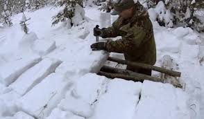 bradley friesen build a wwii style bunker snow shelter recoil offgrid