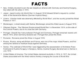 Ottoman Empire Facts Ww1 Begins