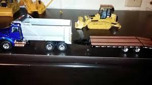 kenworth 2014 models norscot 963 u0026 first gear kenworth truck w trailer youtube