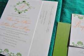 wedding invitations orlando tangerine lime green wedding invitations by pretty peacock