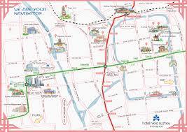 Suzhou China Map by Hotel Nikko Suzhou Tour Around And Visit Suzhou Attractions