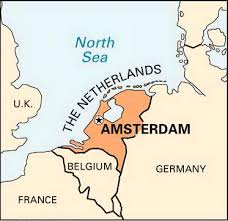 where is amsterdam on a map amsterdam mind map