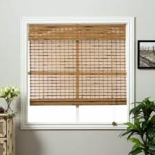 Bamboo Curtains For Windows Bamboo Shades Window Treatments For Less Overstock