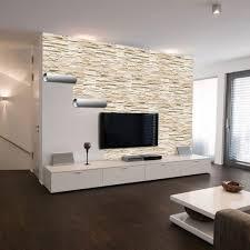 wohnzimmer steintapete haus renovierung mit modernem innenarchitektur kühles wohnzimmer