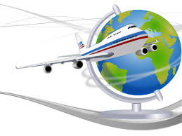 travel globe powerpoint templates ppt backgrounds 3d business