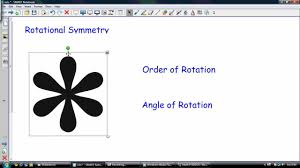 Reflections And Rotations Worksheet Rotational Symmetry Order And Angle Of Rotation Youtube