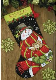christmas needlepoint dimensions snowman and christmas needlepoint kit