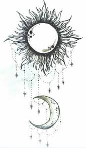 cool sun drawings sun and moon this will be on