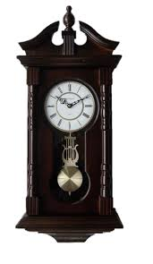amazon com wall clocks grandfather wood wall clock with chime