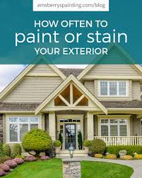 is it better to paint or stain your kitchen cabinets how often to paint or stain your house exterior