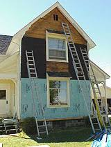 how to prepare an exterior wall for siding adding foam