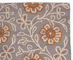 Modern Orange Rug Beautiful Modern Contemporary Tufted Wool Rug 5x8 Grey Orange