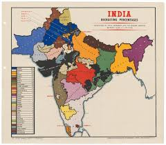 India States Map Indian Army Recruitment 1939 1944 The National Archives