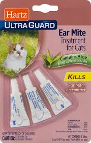 hartz ultra guard eat mite treatment for cats contains aloe 0 101
