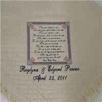 personalized wedding blanket wedding blankets personalized wedding blankets personalized