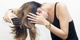 flip hair upsidedown and cut 30 unrevleaed tips on how to make your hair grow faster and longer