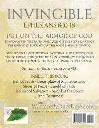 the armor of god warfare by duct tape steven erickson