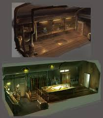 train room by guang yang on deviantart