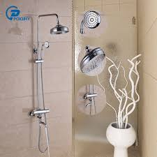 bathtub faucet set thermostatic bathroom fixture sets faucets set 8 inch showerhead