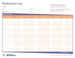 Risk Management Worksheet Fillable Logging Your Lovedones Medication Is Critical Use This