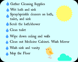 spring cleaning day 5 bathrooms home maid simple