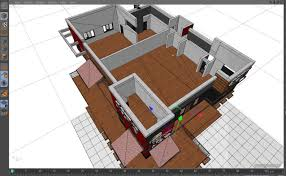 Fast Food Restaurant Floor Plan Kfc Fast Food Restaurant 3d Model Cgtrader