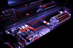 Gaming Workstation Desk by Pc Desk Case Mod Decorative Desk Decoration
