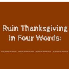 jerry saltz on ruin thanksgiving in four words https