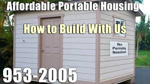 Affordable Homes To Build by How To Build With Us 282 0042 Affordable Portable Housing