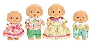 Sylvanian Families Garden Set Sylvanian Families Poodle Family Set Toy At Mighty Ape Nz