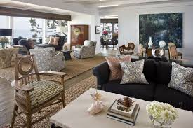 throw rugs for living room how to combine area rugs in an open floor plan