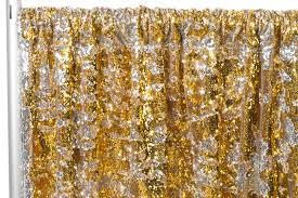 gold backdrop flip up reversible two tone sequin 10ft h x 98 w drape backdrop