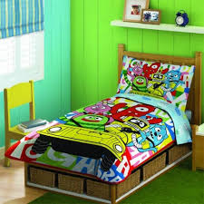 Yo Gabba Gabba Party Ideas by Yo Gabba Gabba Toddler Bedding Set Ktactical Decoration