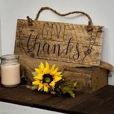 give thanks pallet sign fall decor autumn decor
