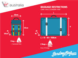 virgin baggage fee 2017 virgin australia baggage allowance for carry on checked