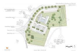 building site plan building program st andrew s lutheran church