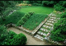 Backyard Ideas For Sloping Yards Popular Of Landscaping A Sloped Backyard Ideas Sloped Backyard