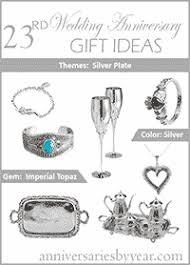 18th anniversary gifts twentythird anniversary 23rd wedding anniversary gift ideas