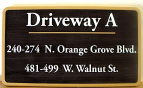 Interior Signs Trail Condo Apartment And Hoa Building Office Directional Street And
