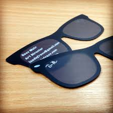 Clever Business Cards Sunglasses Business Card
