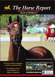 horse report november 2017 by the horse report issuu