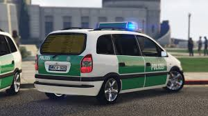 opel minivan opel zafira old german police bild 2 gta v galleries lcpdfr com