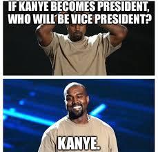 Presidential Memes - social media explodes with kanye west for president memes