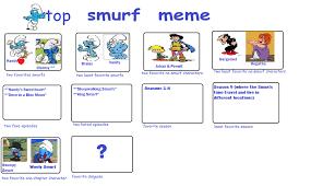 Baby Smurf Meme - smurfs cartoon meme by kessielou on deviantart