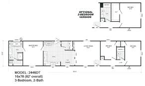 2 bedroom 2 bath single wide mobile home floor plans