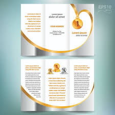 creative brochure templates free creative brochure and booklet tri fold design vector free vector