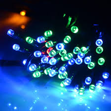 Solar Powered Outdoor Fairy Lights by 56ft Solar Powered 100 Led String Fairy Light Waterproof Outdoor